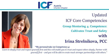 Updated  ICF Core Competencies: Group Mentoring  4.Competence tickets