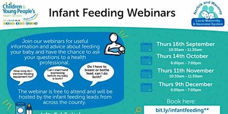 Infant Feeding Webinars tickets