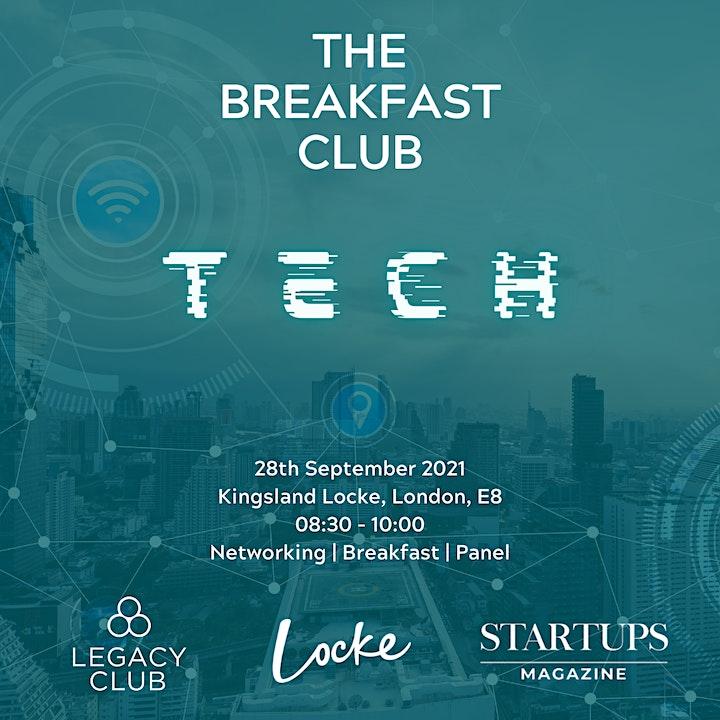 The Breakfast Club - Tech Panel, Networking & Breakfast. image