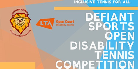 Defiant Sports Open Disability Competition tickets