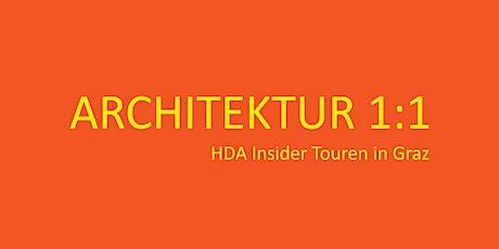 Architektur 1:1 mit Eugen Gross und Andrea Jany Tickets