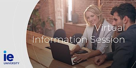 Sesión Informativa de IE Business School y sus MBA tickets
