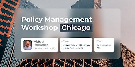 Policy Management Workshop - Chicago tickets