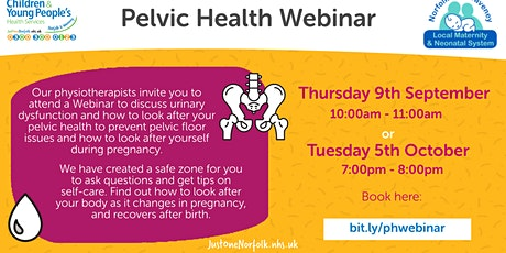 Pelvic Health Webinar biglietti