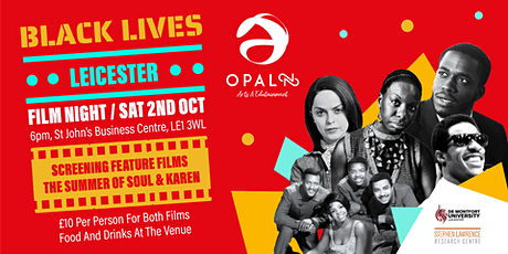 Black Lives Leicester Film Fest tickets