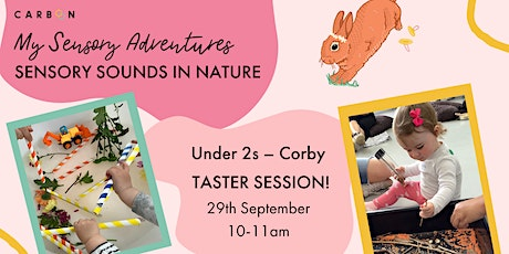 Under 2s Sensory Sounds in Nature: taster session (Corby) tickets