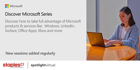 Discover Microsoft Series tickets