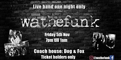 live music   late night feat. wathefunk tickets