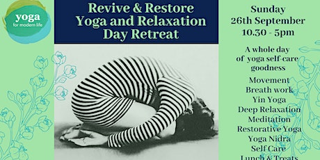 Revive & Restore Full Day Yoga Retreat - Moving from Summer into Autumn tickets