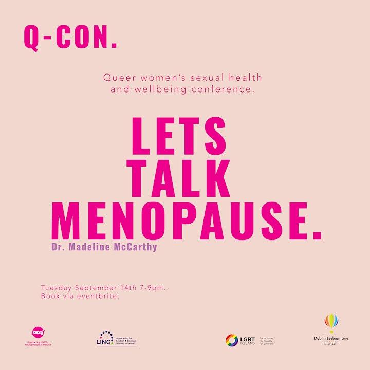 Q-Con: Let's Talk Menopause image