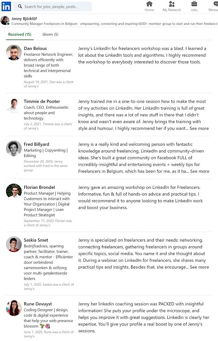 Afbeelding van 1-Month content challenge workshop for freelancers