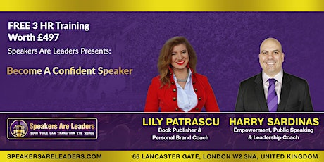 Discover How To Speak With Confidence 1:30PM UK Time tickets