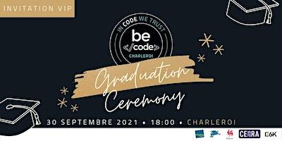 Invitation VIP Graduations BeCode Charleroi