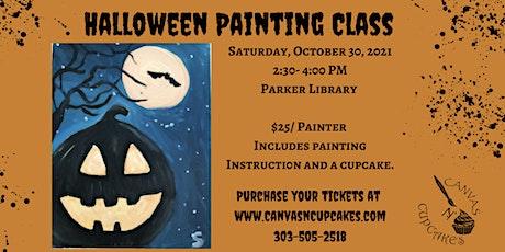 Halloween Painting Class! tickets