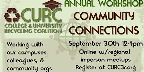 CURC Workshop: Community Connections tickets