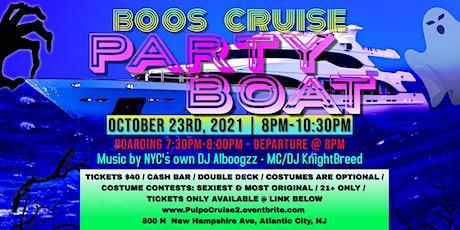 Atlantic City Party Boat - Boos Cruise tickets