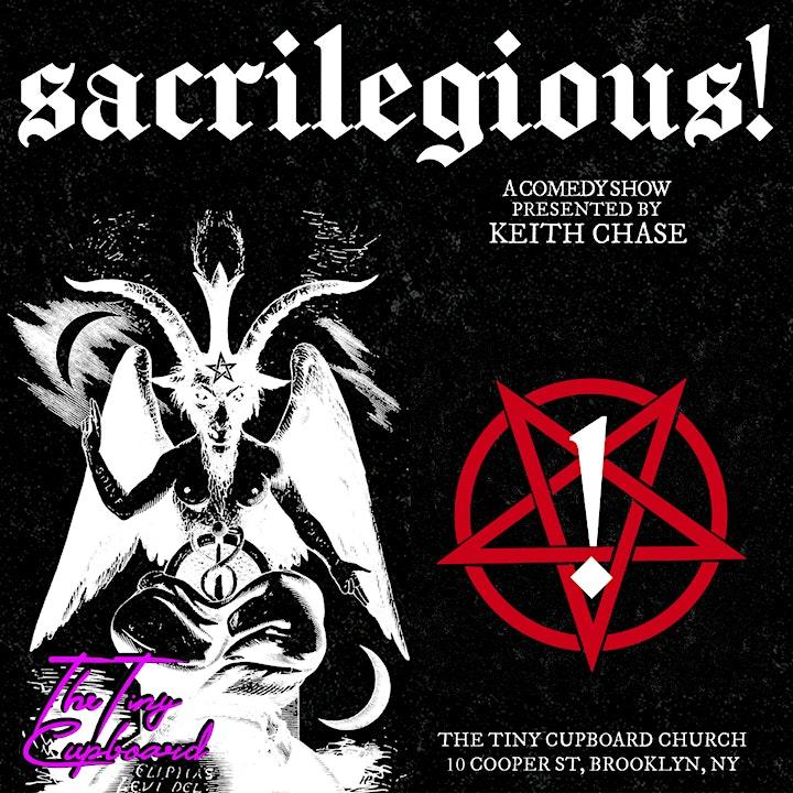 Sacrilegious! A Comedy Show image