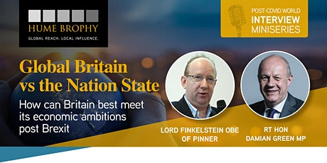 Global Britain vs The Nation State: How best to meet our economic ambitions tickets