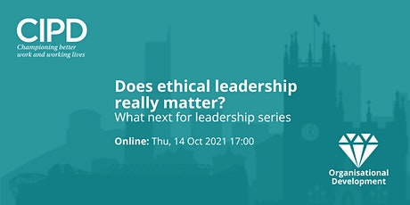 Does ethical leadership really matter? tickets