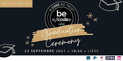 Invitation VIP Graduation BeCode Liège
