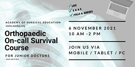 Orthopaedic On-call Survival Course for Junior Doctors tickets