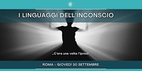 """Seminario """"I LINGUAGGI DELL'INCONSCIO"""" con Oronzo Liantonio biglietti"""