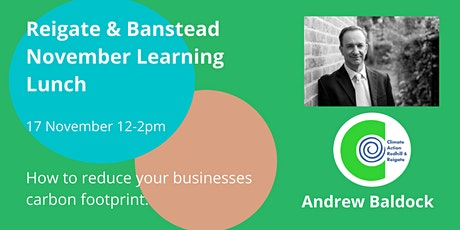 November Learning Lunch - how to make your business greener tickets