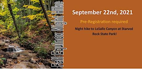 Fall Equinox Night Hike tickets