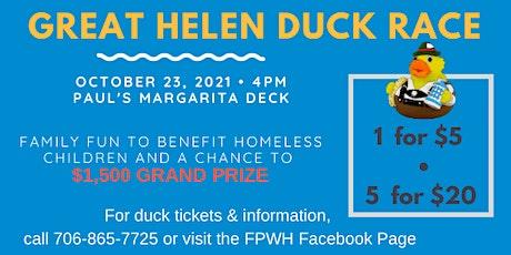 The Great Helen Duck Race tickets