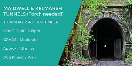 MAIDWELL AND KELMARSH TUNNEL WALK | 4.5 MILES | EASY | NORTHANTS tickets