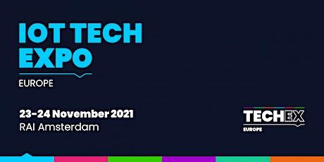 IoT Tech Expo Europe 2021 tickets