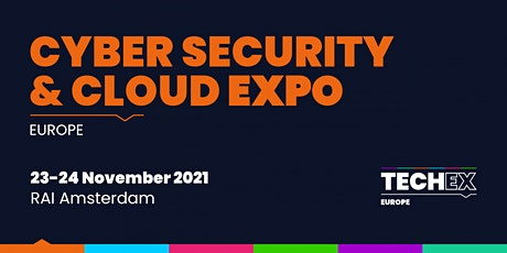 Cyber Security & Cloud Expo Europe 2021 tickets