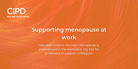 Supporting Menopause at Work tickets