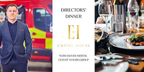 Directors' Dinner | Huddersfield Business Week tickets