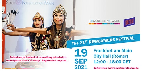 21st Newcomers Festival - 2021 Tickets