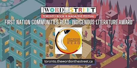 First Nation Communities READ: Indigenous Literature Award tickets