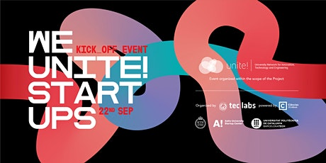 We Unite! Startups - Kick-off event tickets