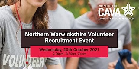 Northern Warwickshire Volunteer Recruitment Event tickets