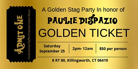 Paulie`s Golden Stag tickets