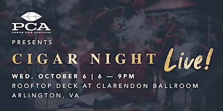 PCA Presents: Cigar Night Live! tickets