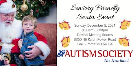 2021 Sensory-Friendly Santa Photos tickets
