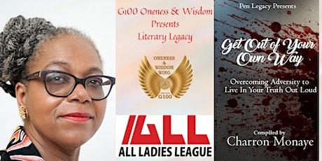 G100 Oneness & Wisdom Literary Legacy - Featured Author Paula Alphonse tickets