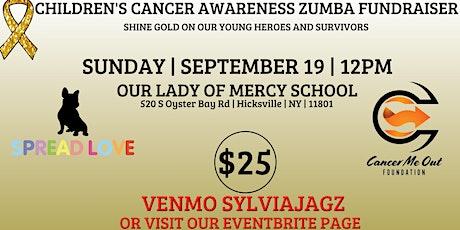 Children's Cancer Awareness Zumba Fundraiser tickets