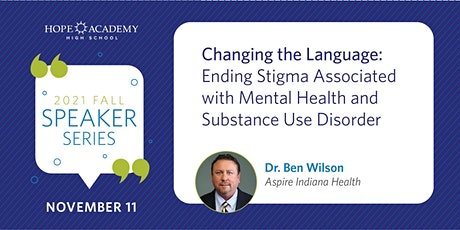 Changing the Language:  Ending Stigma tickets