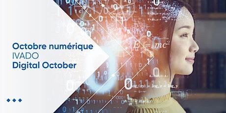 Octobre Numérique IVADO 2021 billets