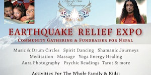 Earthquake Relief Expo for Nepal