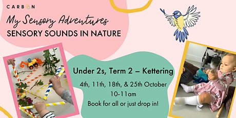 Under 2s Sensory Sounds in Nature  (Term 2)(Kettering) tickets