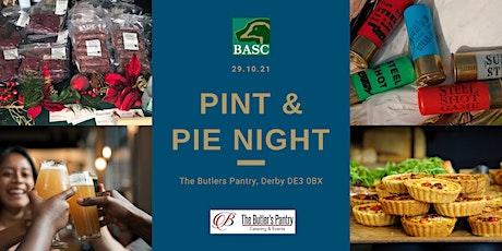 Pint & Pie Night - Derbyshire tickets