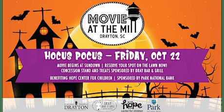 Movie at the Mill: Hocus Pocus tickets