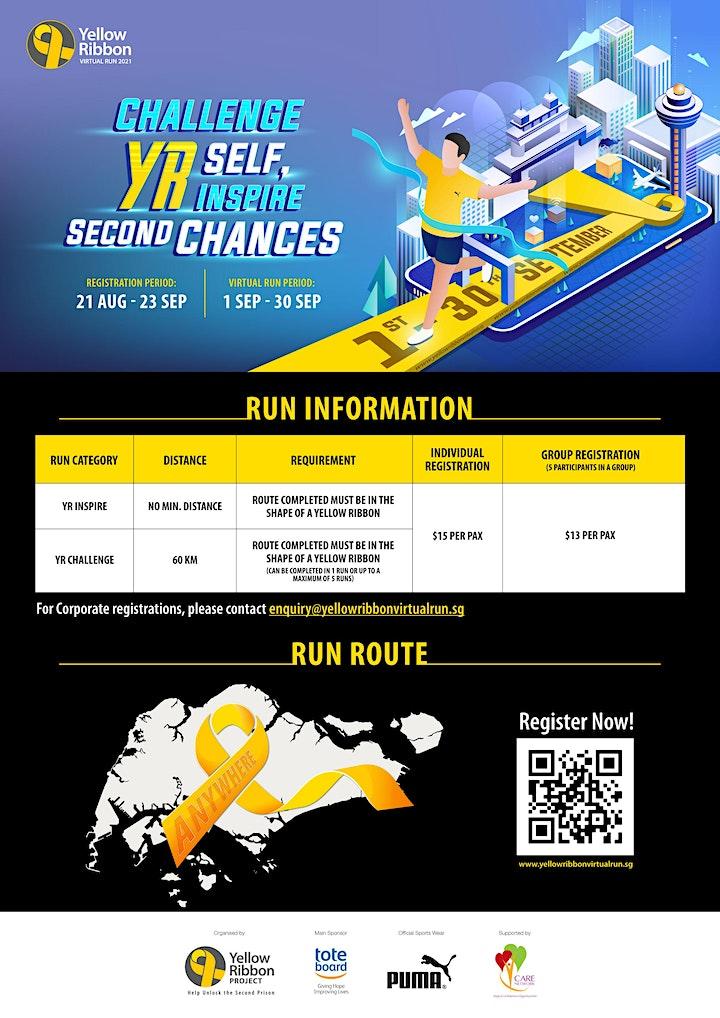 Yellow Ribbon Virtual Run 2021 image